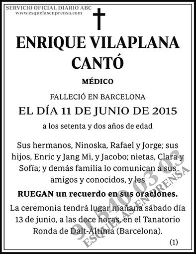 Enrique Vilaplana Cantó